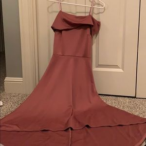Charlotte Russe Pink High Low Formal dress